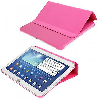 Smart Cover Rose pour Galaxy Tab 10.1 P5200 P5210 3