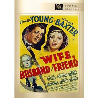 Wife Husband & Friend [DVD] USA import