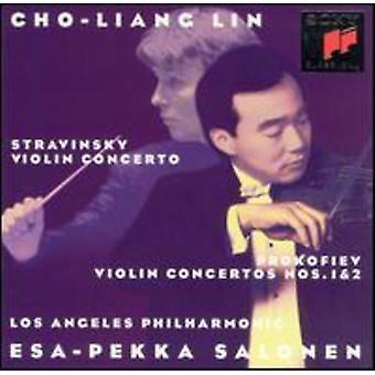 Prokofiev/Stravinsky - Stravinsky; Prokofiev: Violin Concertos [CD] USA import