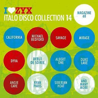 ZYX Italo Disco samling - vol 14-Zyx Italo Disco samling [CD] USA importerer
