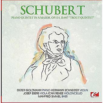 Schubert - Klavierquintett in einem Major Op.114 D.667 [CD] USA import