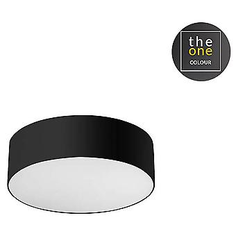 Leds C4 Plafón Luno 168xLed Samsung 52W Negro (Home , Lighting , Hanging lamps)