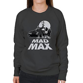 Mad To The Max Sam And Max Women's Sweatshirt