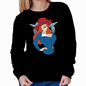 Agent Jessica Rabbit Who Framed Roger Rabbit Women's Sweatshirt