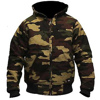 Dickies Bennett zip up jacket camouflage