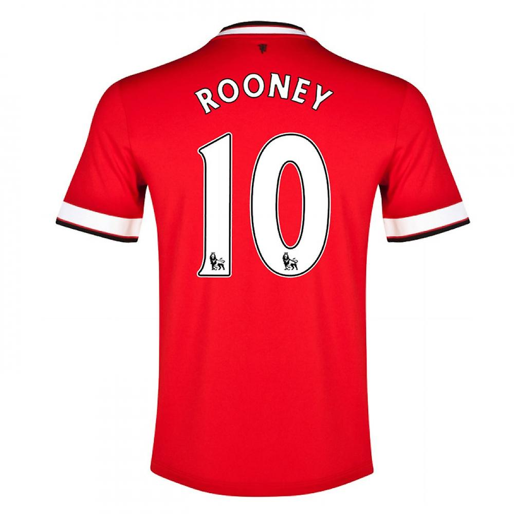 2014-15 Manchester United Thuis Shirt (Rooney 10) - Kids