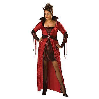 Forførende djævel onde Halloween kvinder Costume Plus