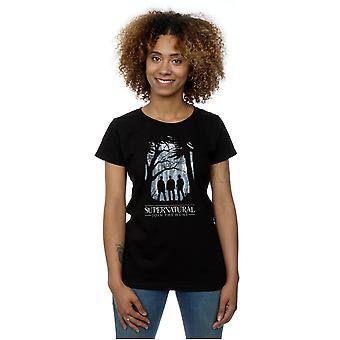 Supernatural Women's Group Outline T-Shirt