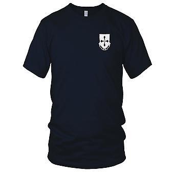 Los E.E.U.U. ejército - 381st infantería bordado parche - para hombre T Shirt