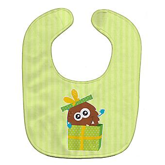 Carolines Treasures  BB9099BIB Birthday Monster Present Baby Bib