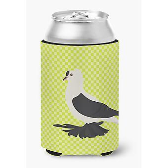 Sächsische Märchen Schwalbe Taube grün Dose oder Flasche Hugger