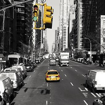 Midtown Nowy Jork Poster Print przez Dominique Obadia (12 x 12)