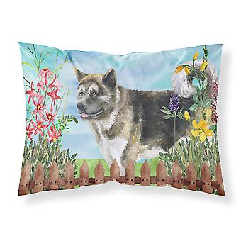 American Akita Spring Fabric Standard Pillowcase