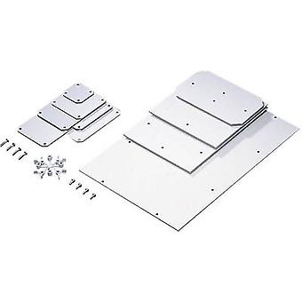 Rittal PK 9548.000 Mounting Plate For PK Case Melamine-phenol coated hard paper Light grey (RAL 7035) Compatible with (