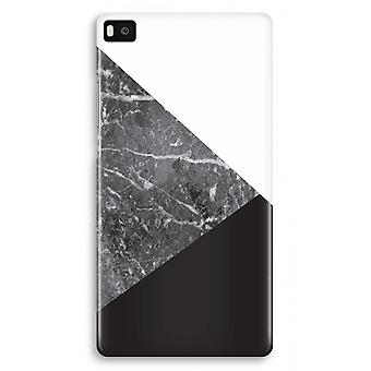 Huawei Ascend P8 Full Print Case - Marble combination