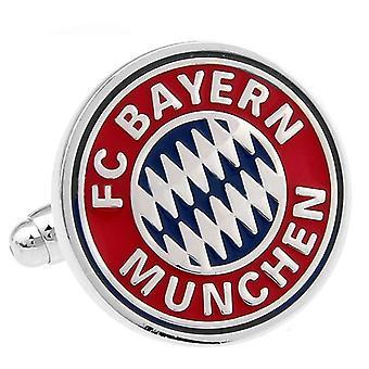 Bayern Munich Football Club équipe Support ventilateur Soccer Sports Cufflinks nouveauté mariage cadeau d'anniversaire
