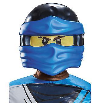 Jay Lego Ninjago Master of Spinjitzu Child Dress Up Boys Costume Mask