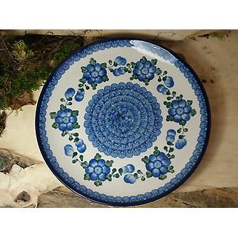 Lunch plate ø 25.5 cm, tradition 9 - boleslawiec aardewerk - BSN 1036
