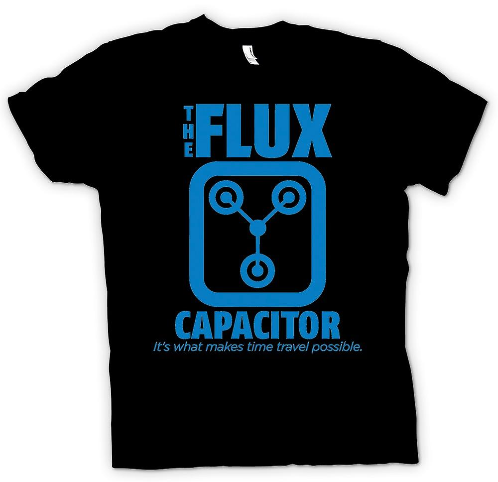 Heren T-shirt - De Flux Capacitor - Quote