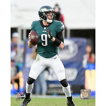 Nick Foles 2017 Action Photo Print