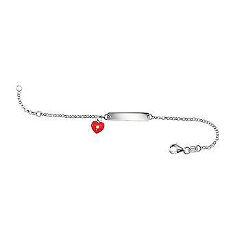 Scout barn ID-armband silver hjärta armband flicka 260209100