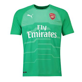 2018-2019 Arsenal Puma Away SS Goalkeeper Shirt (Green)