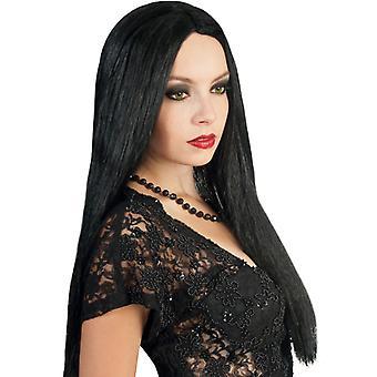 Wig vamp black Megalang Centre parting star