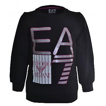 EA7 Girls EA7 Girls Black Sweatshirt
