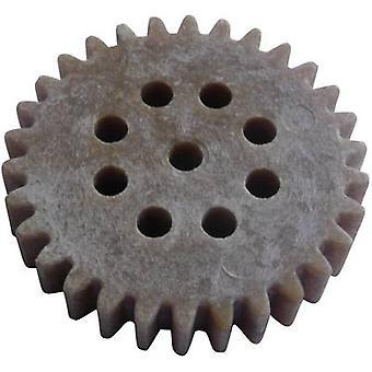 Wood, Plastic Cogwheel Modelcraft Module Type: 1.0 No. of teeth: 30 1 pc(s)