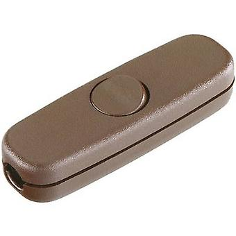 interBär 5055-009.01 Pull switch Brown 1 x Off/On 3 A 1 pc(s)