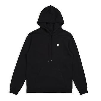 Brixton B Shield Pullover Hoodie Black