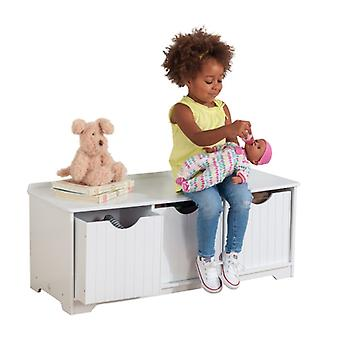 Kidkraft Nantucket Storage Bench biały