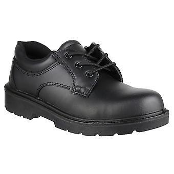 Amblers Mens FS41 seguridad Gibson puntera de acero cuero Oxford zapatos S1-P-SRC