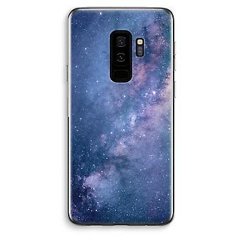 Samsung Galaxy S9 sowie transparentes Gehäuse (Soft) - Nebel