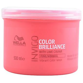 Wella Professionals Hair Mask for Invigo Brilliance Fine Hair 500 ml