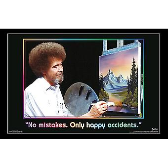 Bob Ross - Accidents Poster Print