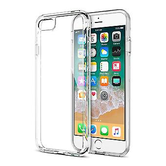 Stuff Certified ® Transparent Clear Flexible Gel Case Cover iPhone Case 8 Plus