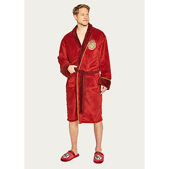 Official Harry Potter Hogwarts Express Platform 9 3/4 Dressing Gown / Bathrobe