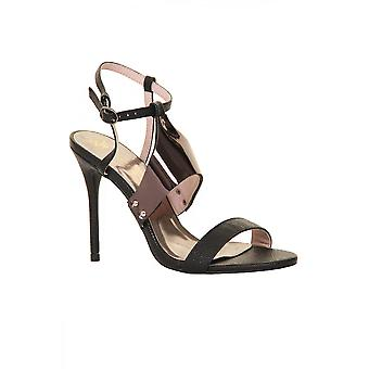 Little Mistress Metal Bar Sandals