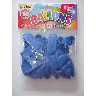 Ballonnen no. 12 d.blauw 5 pakjes met 10 stuks