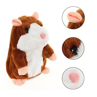 Mimicry Talking Hamster repeats what you say The Fun Plush Animal Toy Electronic Hamster Mouse Children Speak Learning Toys