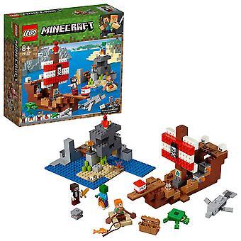 レゴ Minecraft 21152 海賊船アドベンチャーします。