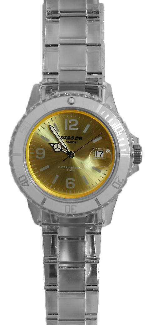 Waooh - Watch VENICE 34 White Dial Color
