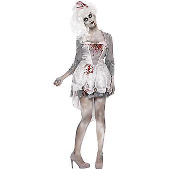 Zombie georgiano traje, Reino Unido 8-10