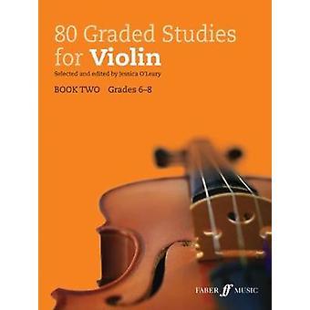 80 graderad studier för Violin - bok 2 av Jessica O'Leary - 97805715397