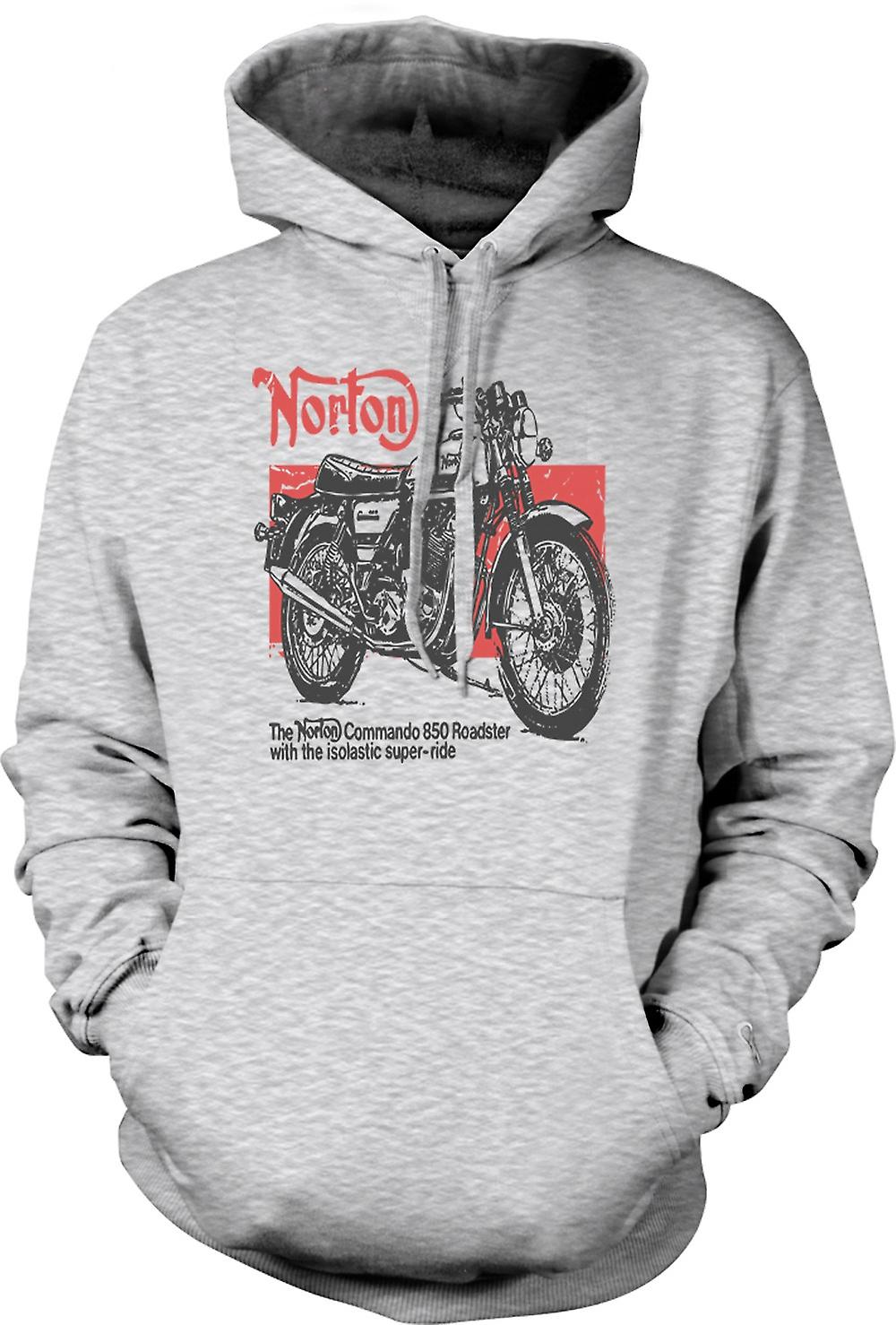 Heren Hoodie - Norton Commando 850 Roadster