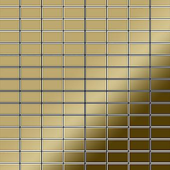 Metal mosaic Titanium ALLOY Bauhaus-Ti-GM
