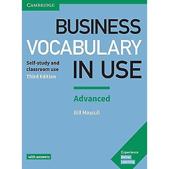 Business Vocabulary in Use - Advanced Book with Answers by Bill Mascul