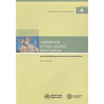 Compendium of Food Additive Specifications - Joint FAO / WHO Expert Co
