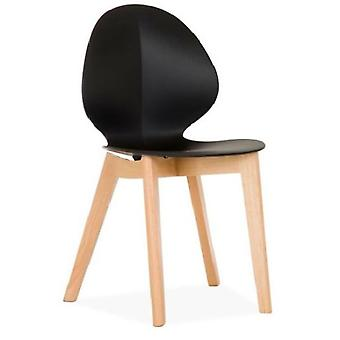 Wellindal Auster chair  cross edition black (Furniture , Chairs , Chairs)